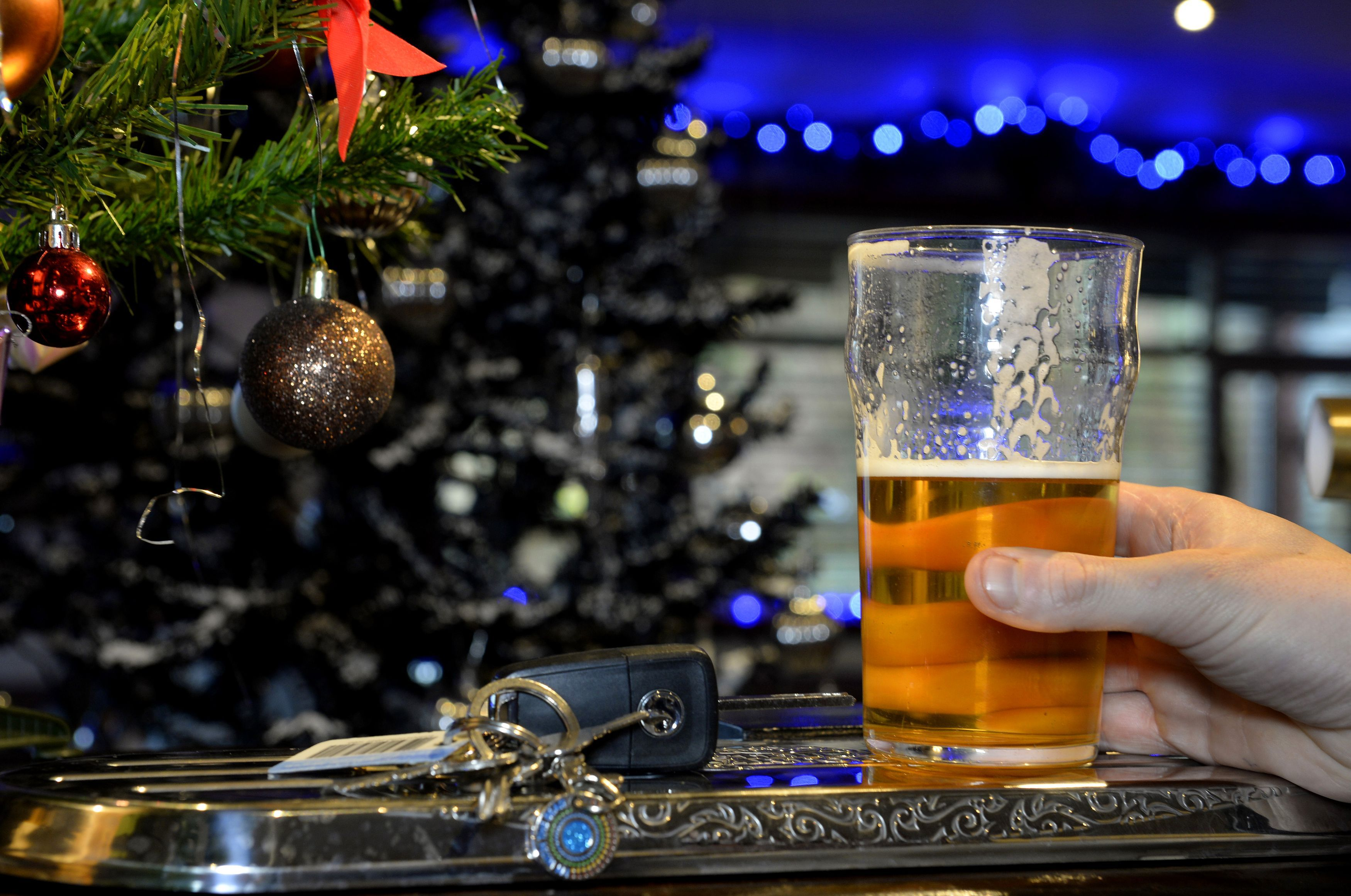 Christmas drink driving