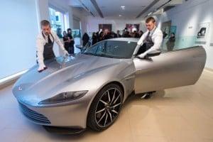 James Bond's Aston Martin sold for £2.4m