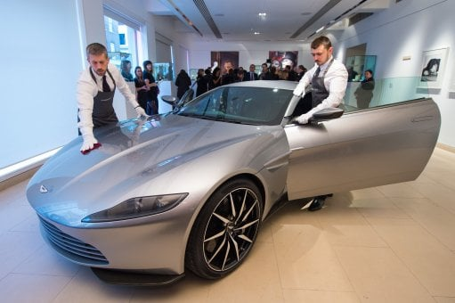 James Bond's Aston Martin sold for £2.4m