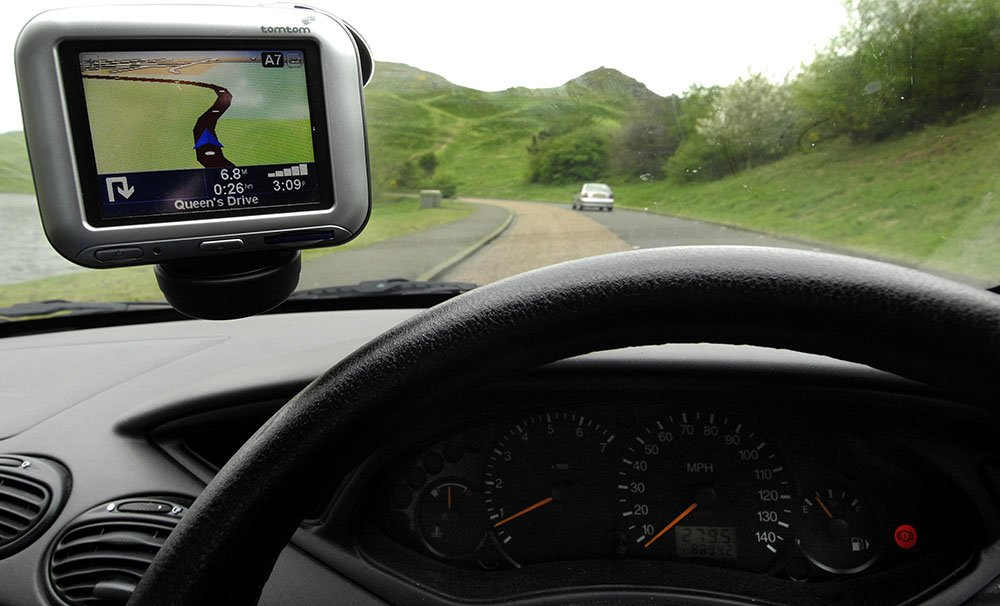 The position of your sat-nav can have an impact on your safety while driving