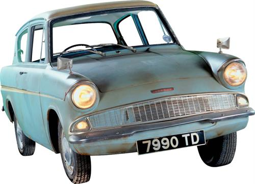 Harry Potter's flying Ford Anglia is in the running to be crowned the nation's favourite Ford ahead of FordFest.