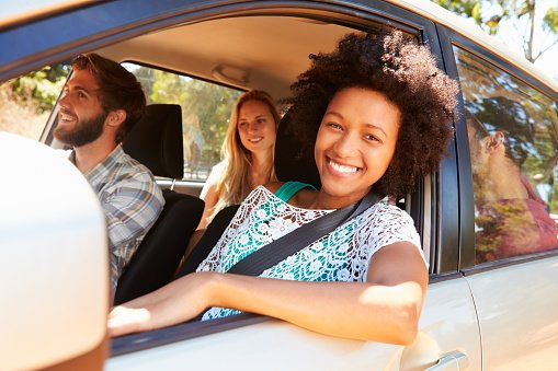 A survey has found many people enjoy spending time in the car with friends or family