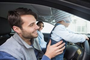A new study suggests that dangerous driving runs in the family.