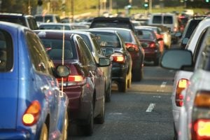 Motorists have said they find daily traffic jams even more stressful than going on a first date.