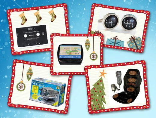A round-up of affordable Christmas gifts for car enthusiasts and motorists.