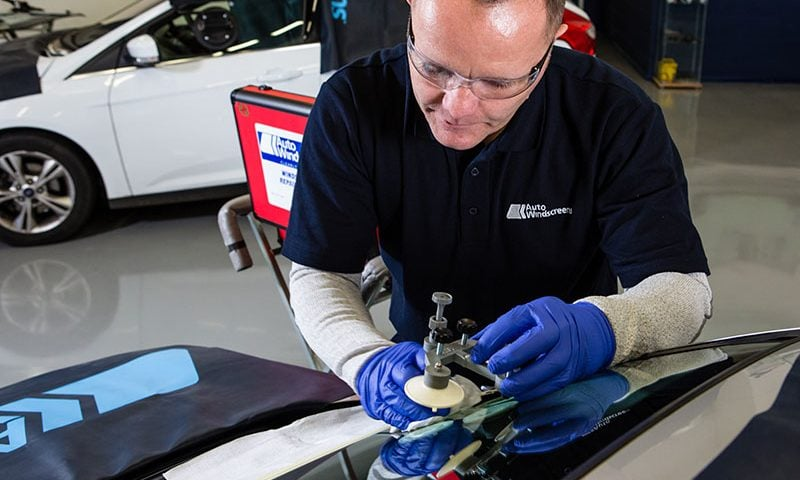 Get your windscreen chip fixed as soon as possible to avoid it turning into a crack.