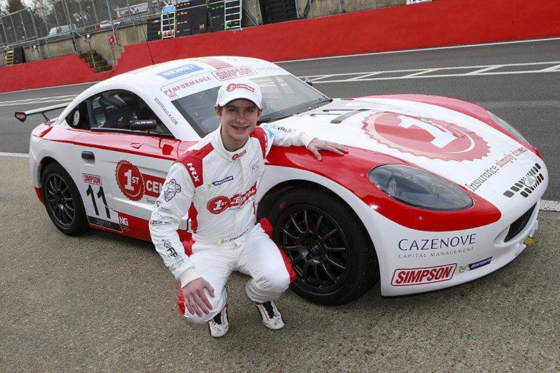 Sebastian Priaulx and 1st CENTRAL join forces in long-term sponsorship agreement