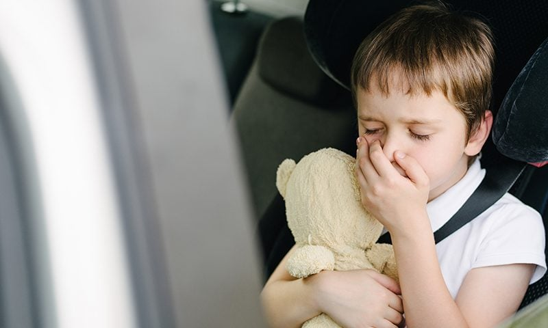 Two in three people have felt sick in a car at least once.