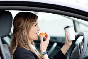 Sat-navs, mobile phones and chatty friends were all used to distract drivers