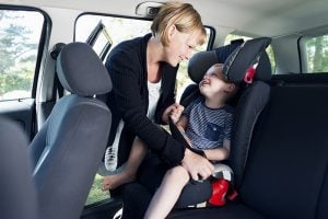 Only 15% of child seats were fitted correctly for the child using it