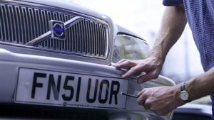 Car number plates will never include 'ARS' or 'DAM' according to the DVLA