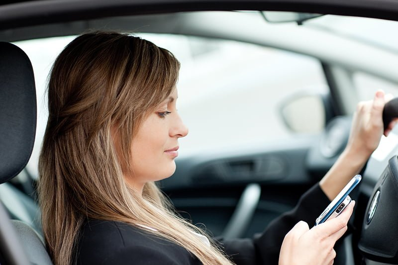 Using a phone behind the wheel is the most annoying commuter habit