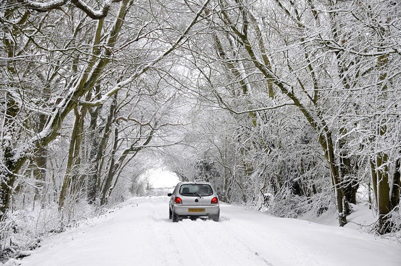 From adjusting shopping distances to changing to winter tyres, here's our guide to driving in winter weather.