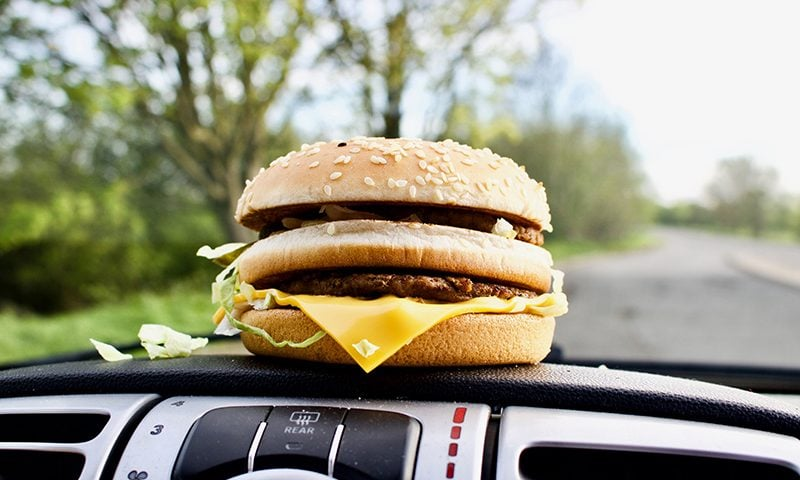 Paying with your phone at the drive-through could get you six points and a £200 fine