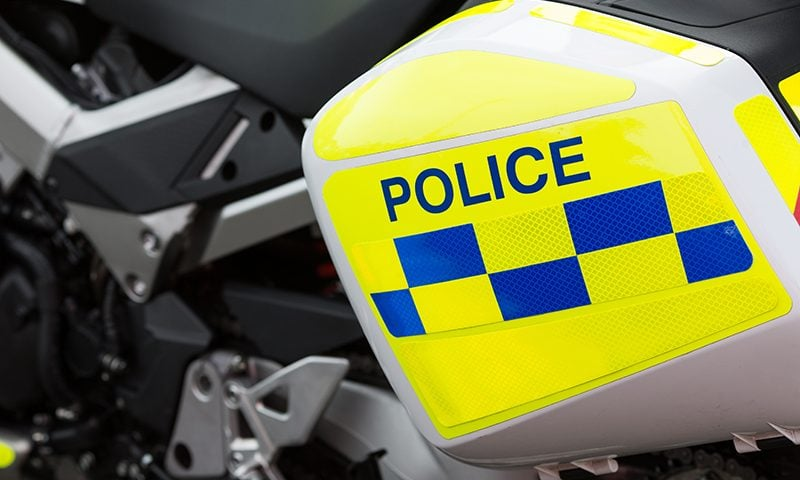 @SurreyRoadCops quipped that the dangerous driver had been watching Dumb and Dumber