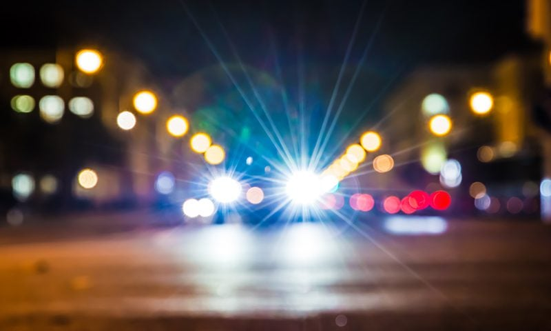 One in six respondents claim to have had a near miss after being dazzled by headlights