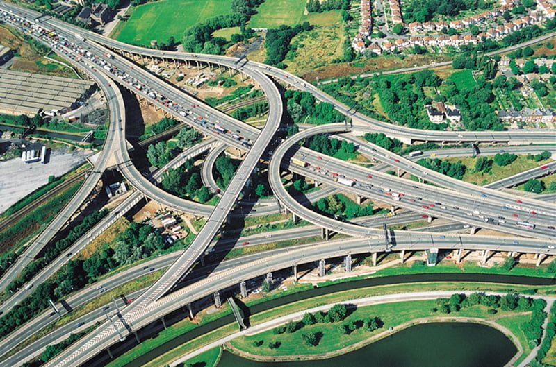 Image Caption The M6 is one of Britain's most dangerous roads