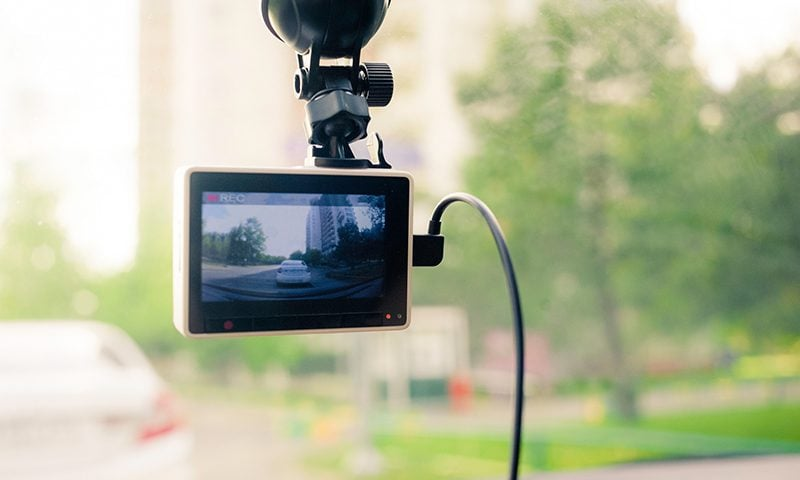 Data is king in the event of a crash – so a dashcam can provide valuable evidence