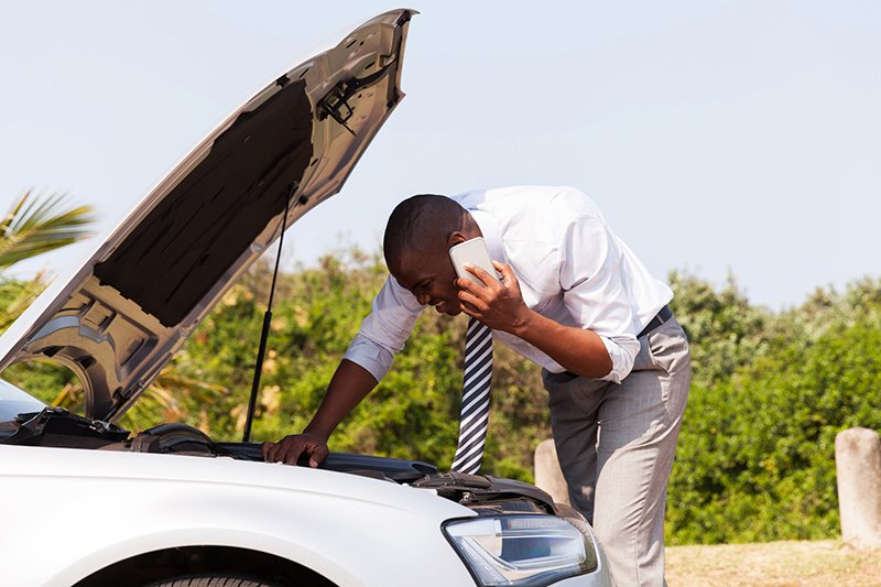 Stay calm, stay safe and get help when your car breaks down
