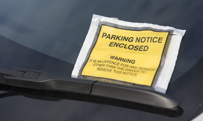 Can you challenge your parking fine?
