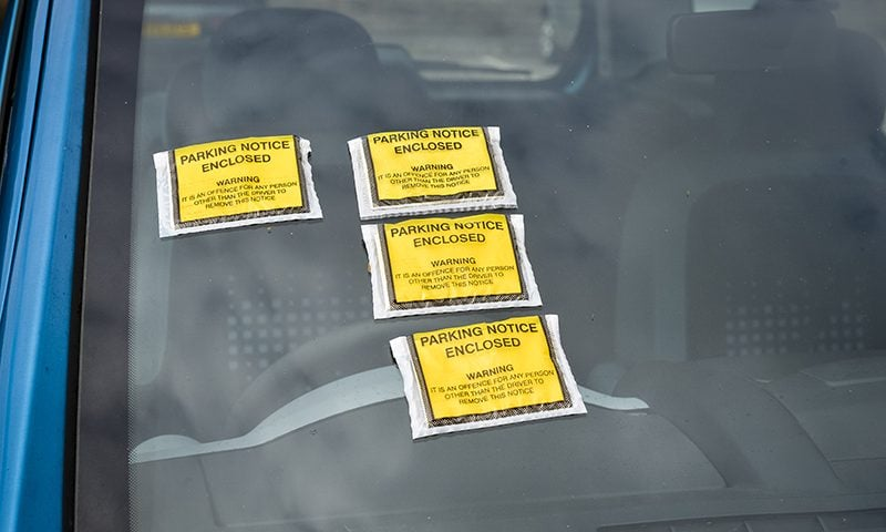 An estimated 6.4 million private parking tickets will be issued this year