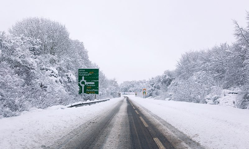UK drivers are less than confident in winter driving conditions