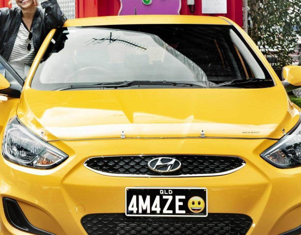 Emoji number plates have hit Queensland, would you get one?