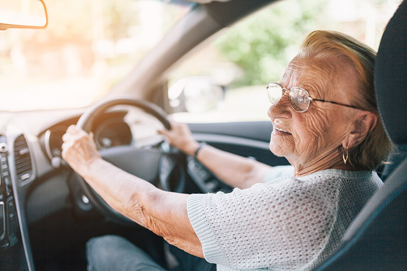 Too old to drive? There's no such thing as long as you're still competent behind the wheel