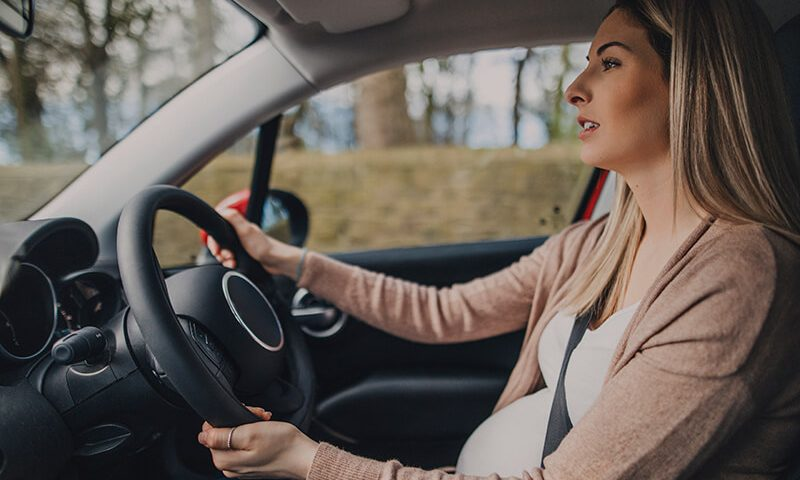 Checkout our guide on driving when pregnant