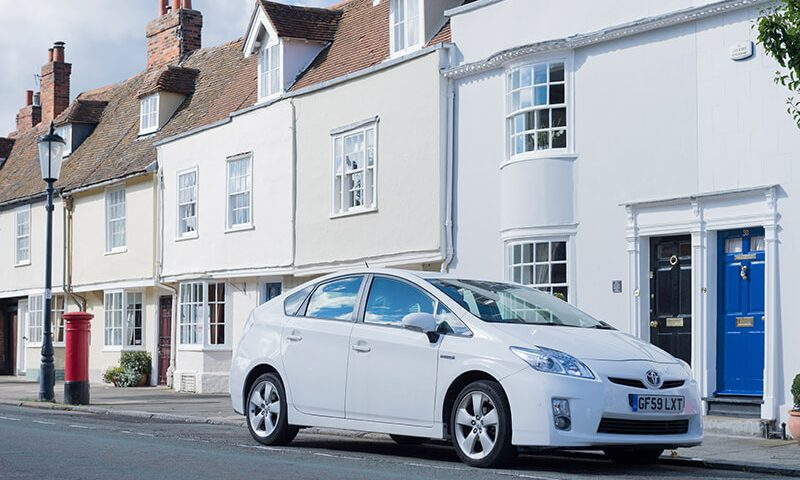 The Toyota Prius tops the list for most accident-prone cars on the road in the uk