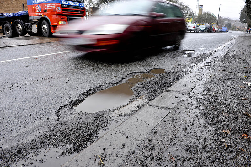 East Sussex scored highly for having the most amount of potholes leading it to become one of the most frustrating places to drive in the UK