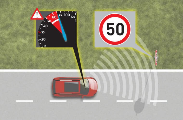 Intelligent speed limiting devices set to be introduced to all new cars from 2022