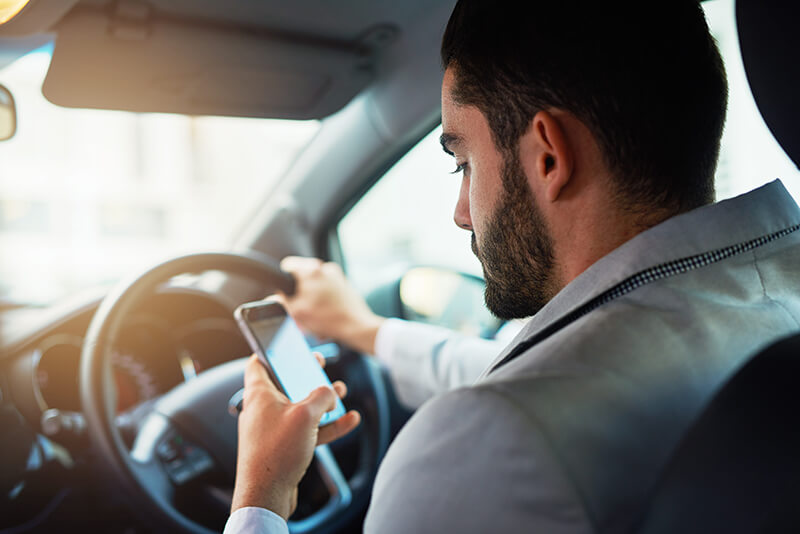 Phone detectors are set to be introduced by the police in a bid to crackdown on the number of drivers using their phone at the wheel.
