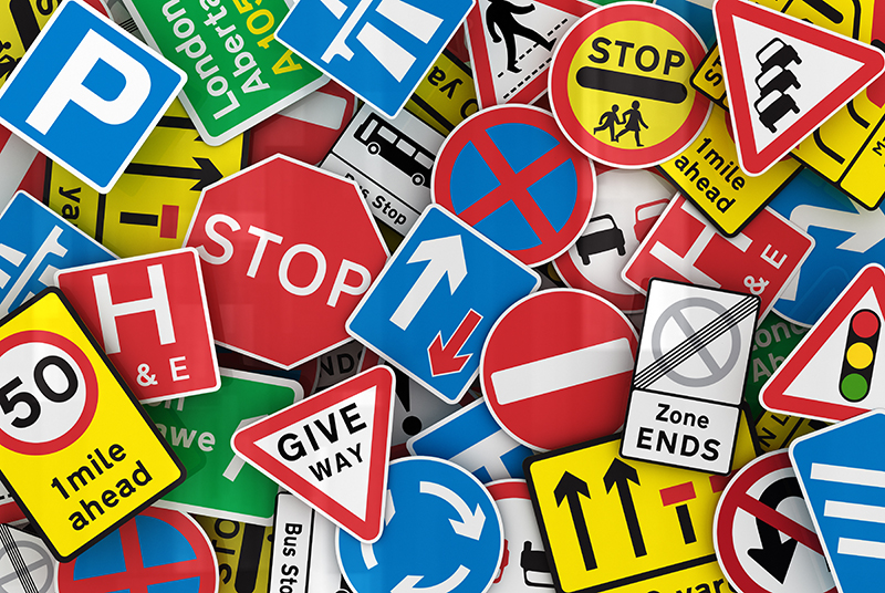 Are you being driven round the bend by confusing road signs?