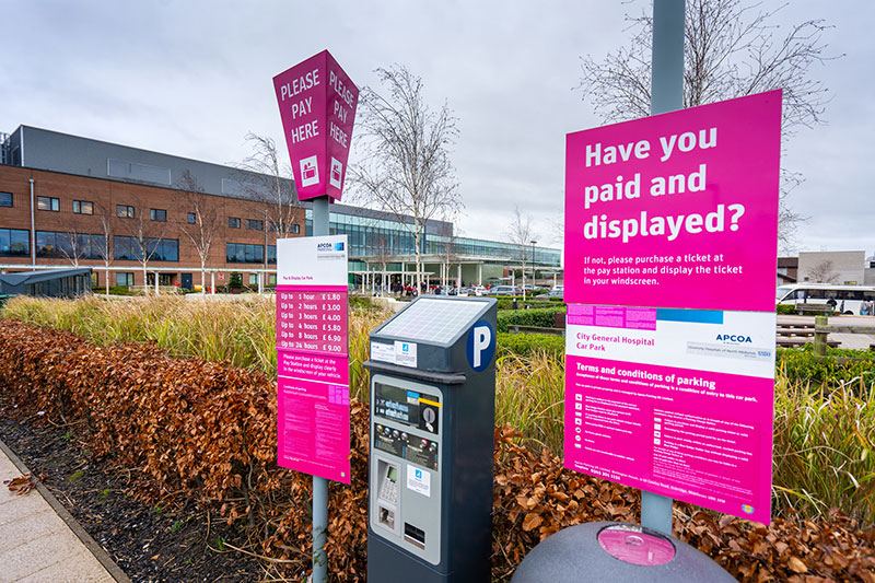 NHS rip off cancer patients in hospital car parks