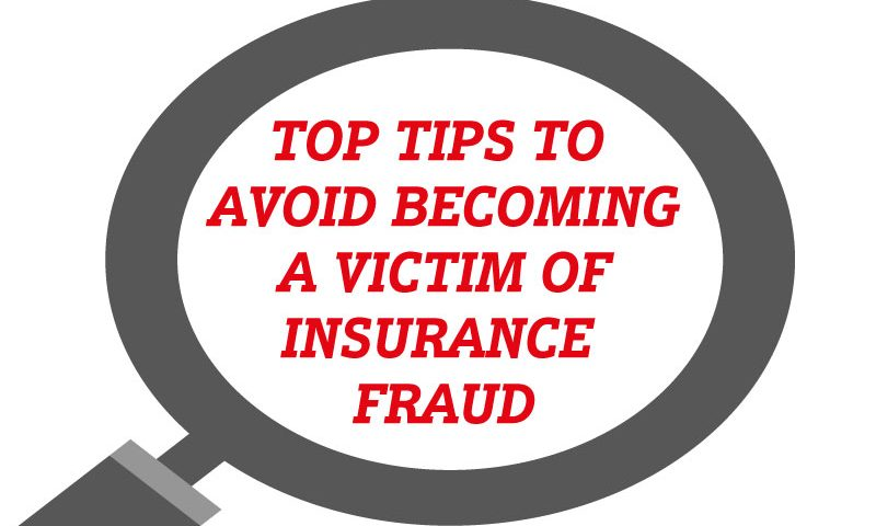 Check out our top tips on how to avoid becoming a victim of insurance fraud