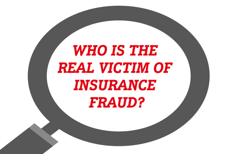 Did you know that we're all essentially victims of insurance fraud?
