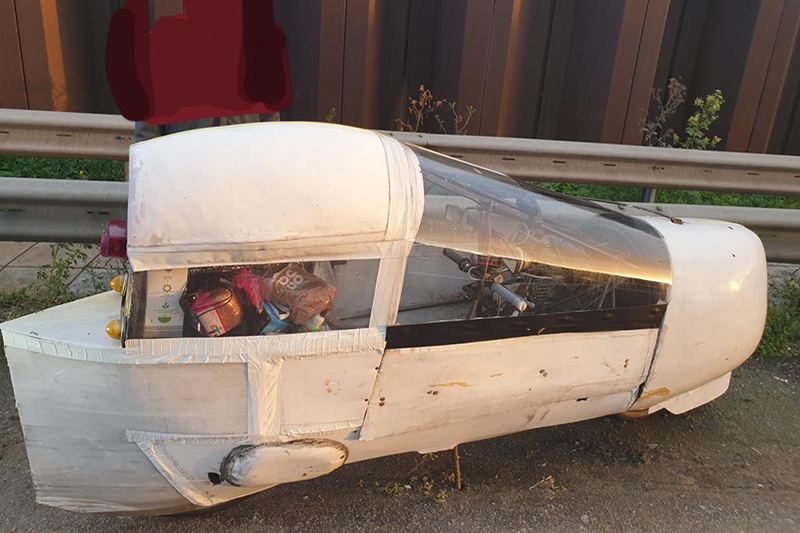 A homemade car was deemed to be too dangerous to drive. Do you agree?