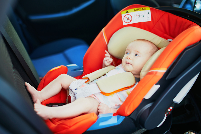Are newborns at risk in car seats?