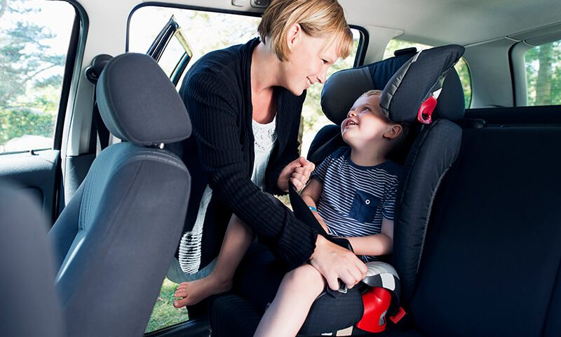 Children's car seats have more harmful bacteria than toilet seats.