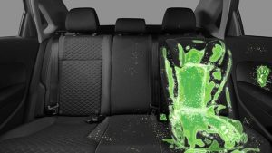 children's car seats are riddled with harmful bacteria