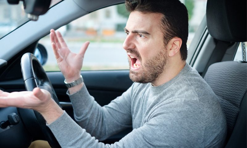 Swearing at other drivers could cost you £1,000
