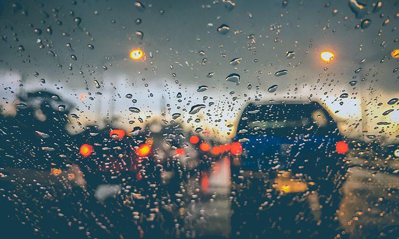 Horrific car crash on M62 reveals dangers of driving in wet weather.
