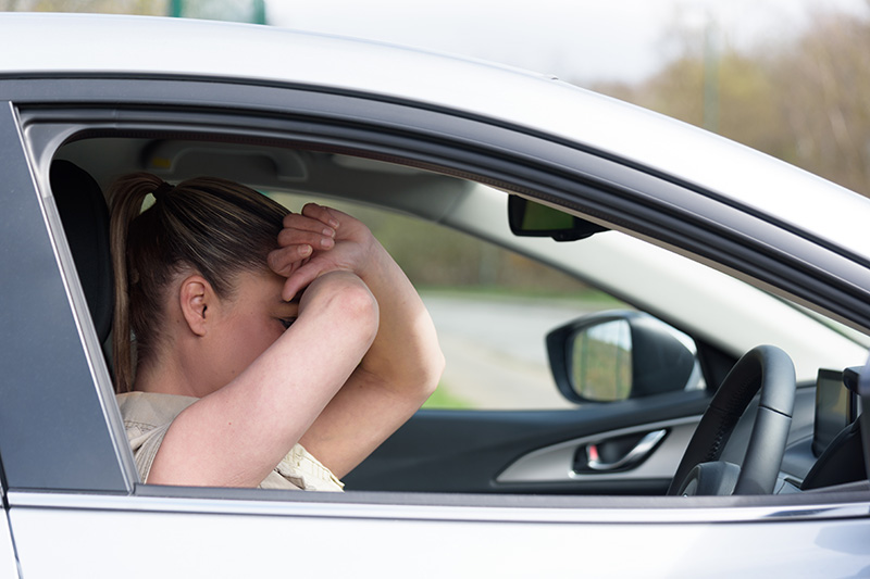 Nearly a third (31%) have had near miss due to feeling anxious whilst driving