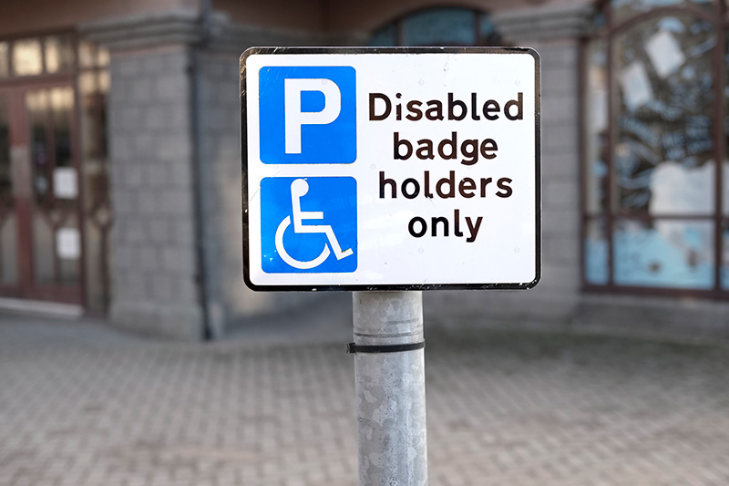 Local authorities are lagging behind on Blue Badge misuse.
