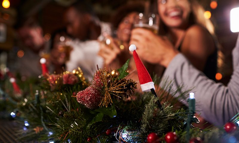 Image Caption Festive drinkers more likely to get behind the wheel