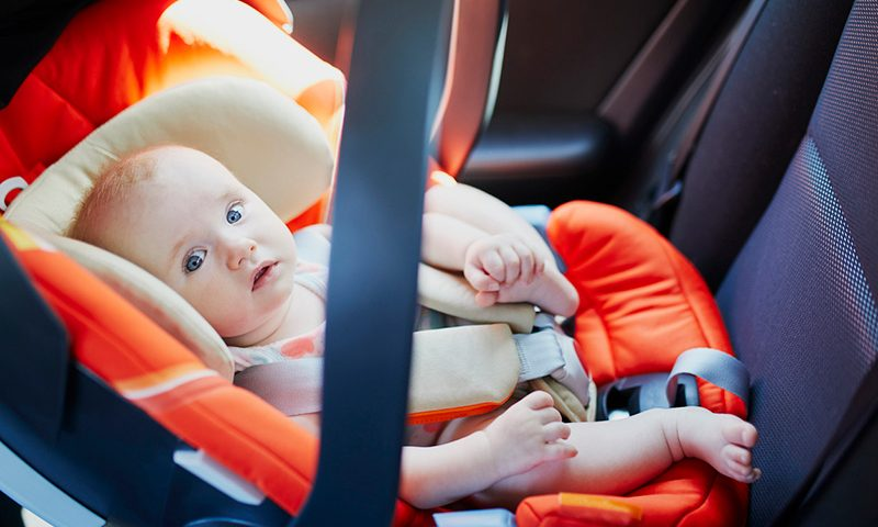 Front-facing car seats put young children at greater risk