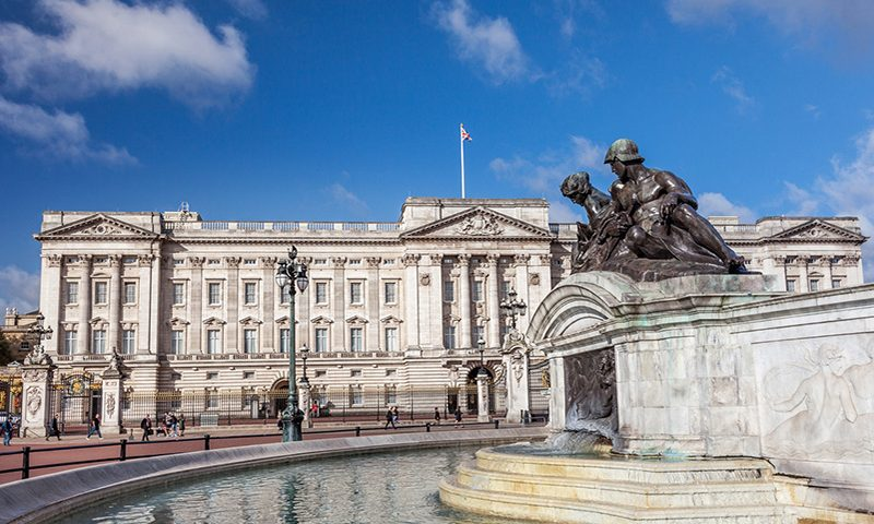 Buckingham Palace causes 34 accidents a year