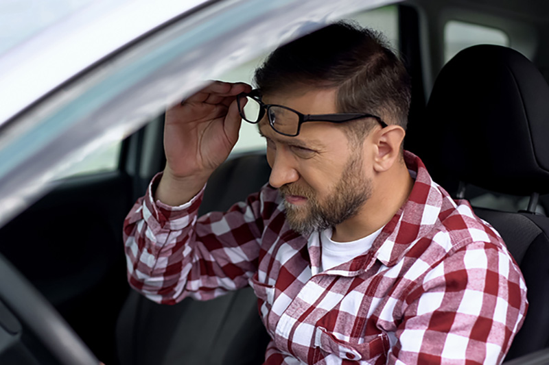 Do you risk driving without your glasses?