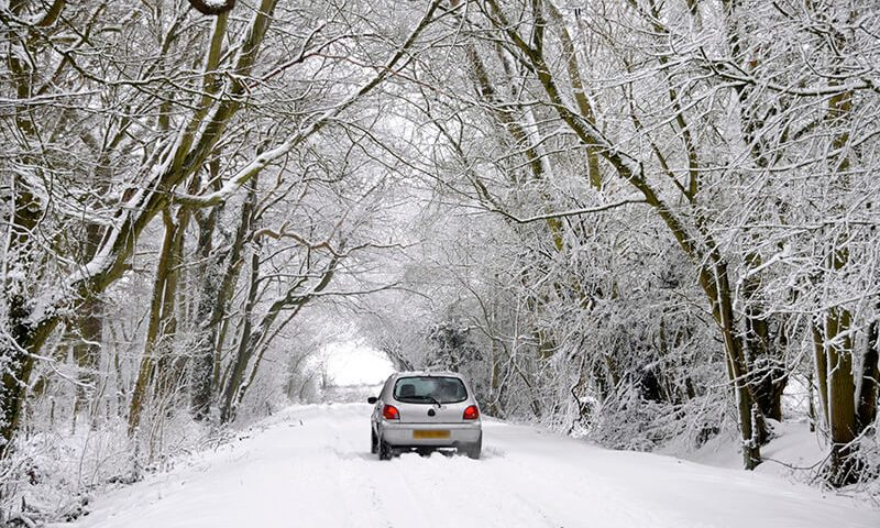 Here's your top tips for driving in snow